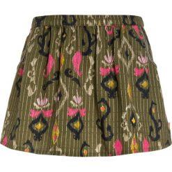 Billieblush Spódnica mini green. Zielone minispódniczki Billieblush, z bawełny. W wyprzedaży za 159,20 zł.