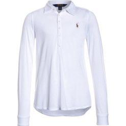 Polo Ralph Lauren Koszulka polo white. Niebieskie t-shirty chłopięce marki Adidas, z kontrastowym kołnierzykiem, z krótkim rękawem. Za 249,00 zł.