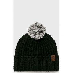The North Face - Czapka. Szare czapki zimowe damskie The North Face, na zimę, z dzianiny. Za 129,90 zł.