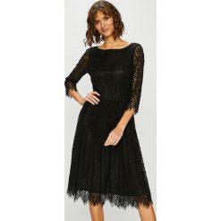 Medicine - Sukienka Sparkles. Czarne sukienki balowe marki MEDICINE, l, z bawełny, z okrągłym kołnierzem, midi, rozkloszowane. Za 139,90 zł.