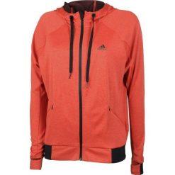 Bluzy damskie: Adidas Bluza damska Performance Full Zip Hoodie A pomarańczowa r.L (BK7679)