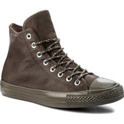 Trampki CONVERSE - Ctas Hi 157513C Dark Chocolate/Dark Chocolate. Brązowe tenisówki męskie Converse, z gumy. W wyprzedaży za 269,00 zł.
