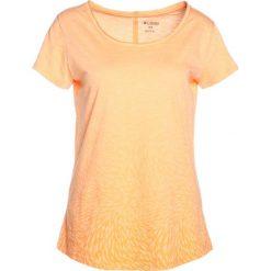 Columbia OCEAN FADE SHORT SLEEVE TEE Tshirt z nadrukiem summer orange. Brązowe t-shirty damskie Columbia, l, z nadrukiem, z bawełny. Za 129,00 zł.