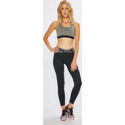 Nike - Legginsy. Brązowe legginsy skórzane Nike, l. Za 179,90 zł.