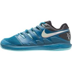 Nike Performance AIR ZOOM VAPOR X HC Obuwie multicourt green abyss/multicolor/bleach. Niebieskie buty do tenisa męskie Nike Performance, z materiału. W wyprzedaży za 471,20 zł.