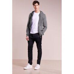 Swetry rozpinane męskie: 120% Cashmere Kardigan dark grey