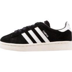 Adidas Originals CAMPUS C Tenisówki i Trampki core black/white. Czarne tenisówki męskie marki adidas Originals, z materiału. W wyprzedaży za 199,20 zł.