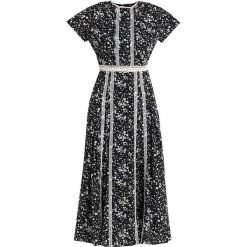 Sister Jane DEEP CREEK DRESS Długa sukienka black/white. Czarne długie sukienki Sister Jane, m, z materiału, z długim rękawem. Za 359,00 zł.