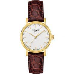 PROMOCJA ZEGAREK TISSOT EVERYTIME LADY T109.210.36.031.00. Białe zegarki damskie TISSOT, ze stali. W wyprzedaży za 880,00 zł.