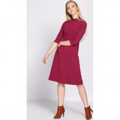 Fioletowa Sukienka Chorus. Fioletowe sukienki hiszpanki Born2be, na jesień, l, midi. Za 59,99 zł.