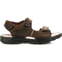 Skórzane sandały mckeylor ANGELINA odcienie brązu i beżu. Brązowe sandały męskie McKeylor. Za 129,90 zł.