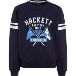 Hackett London HENLEY FLAG Bluza navy. Niebieskie bluzy chłopięce marki Retour Jeans, z bawełny. Za 269,00 zł.