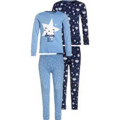 Mothercare GIRLS MOON STARS 2 PACK Piżama blue. Niebieskie bielizna dziewczęca mothercare, z bawełny. Za 149,00 zł.