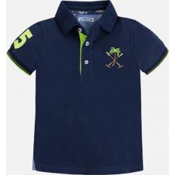 Mayoral - T-shirt dziecięcy 92-134 cm. Niebieskie t-shirty chłopięce z krótkim rękawem marki S.Oliver, z nadrukiem, z bawełny. Za 99,90 zł.