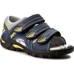 Sandały BARTEK - 16106-199 Granatowy. Niebieskie sandały męskie skórzane Bartek. W wyprzedaży za 149,00 zł.