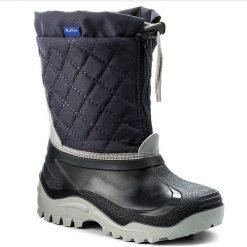 Buty zimowe chłopięce: Śniegowce MUFLON – 32-474CH Granatowy