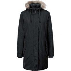Płaszcze damskie: Płaszcz z odpinanym kapturem i sztucznym futerkiem bonprix czarny