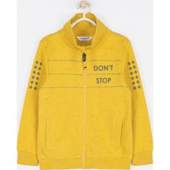 Bluza. Pomarańczowe bluzy chłopięce rozpinane marki FAST LANE, z aplikacjami, z bawełny. Za 89,90 zł.