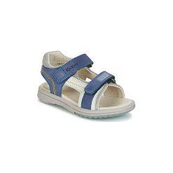 Sandały Dziecko  Kickers  PLATINO. Niebieskie sandały chłopięce Kickers. Za 231,20 zł.