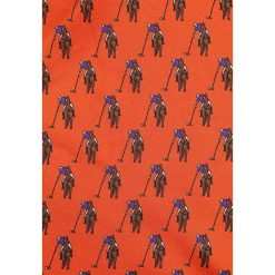 Krawaty męskie: Polo Ralph Lauren BOLD POLO PLAYER POCKET SQUARE  Krawat orange