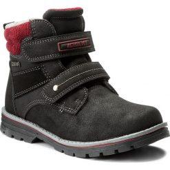 Buty zimowe chłopięce: Trapery ACTION BOY – CP07-16844-02 Czarny