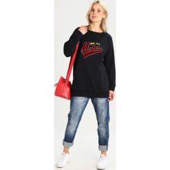 Bluzy rozpinane damskie: LOIS Jeans OVER HOLA Bluza black