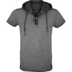 T-shirty męskie: RED by EMP Hooded Slub Yarn T-Shirt T-Shirt szary