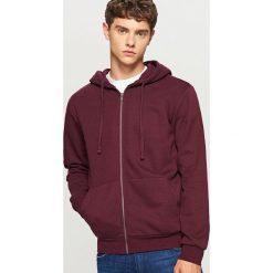 Bluza z kapturem - Bordowy. Czerwone bluzy męskie rozpinane marki KALENJI, m, z elastanu, z długim rękawem, długie. Za 79,99 zł.