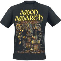 Amon Amarth Thor T-Shirt czarny. Czarne t-shirty męskie Amon Amarth, l, z napisami. Za 74,90 zł.