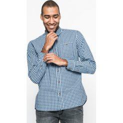 Medicine - Koszula City Rhythmes. Szare koszule męskie na spinki MEDICINE, m, w kratkę, z bawełny, z klasycznym kołnierzykiem, z długim rękawem. W wyprzedaży za 49,90 zł.