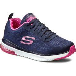 Buty SKECHERS - Skech-Air Infinity 12111/NVPK Navy/Pink. Niebieskie buty do fitnessu damskie marki Salomon, z gore-texu, na sznurówki, gore-tex. W wyprzedaży za 239,00 zł.