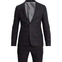 Viggo WUPPERTAL SUIT SLIM FIT Garnitur red. Niebieskie garnitury Viggo, z materiału. Za 799,00 zł.