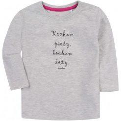 Bluzki dziewczęce z długim rękawem: Bluzka z długim rękawem dla dziewczynki 1-3 lata