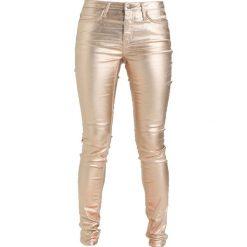 KIOMI Jeans Skinny Fit gold. Żółte jeansy damskie relaxed fit marki KIOMI. Za 209,00 zł.