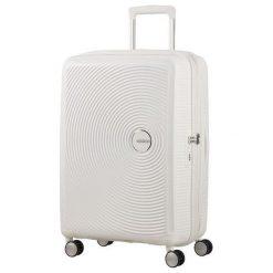 Walizka Soundbox 67/24 TSA EXP biała (32G-05-002). Białe walizki marki American Tourister. Za 421,92 zł.