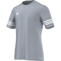 Adidas Koszulka piłkarska Entrada 14 M. Niebieskie koszulki sportowe męskie marki Adidas, m. Za 39,00 zł.