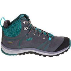 Buty trekkingowe damskie: Keen Buty damskie Terradora Pulse Mid WP szaro-zielone r. 39.5 (11819)