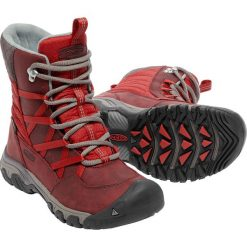 Buty trekkingowe damskie: Keen Buty trekkingowe HOODOO III LACE UP kolor bordowo-czerwony r. 38 (HOODIIIUP-WN-SYTS)