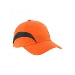 Czapka z daszkiem Light pomarańczowa. Brązowe czapki z daszkiem męskie SOLOGNAC. Za 34,99 zł.