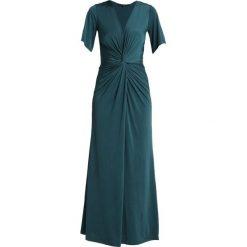 Ilse Jacobsen EMMA Długa sukienka pine green. Brązowe długie sukienki marki Alma en Pena, z materiału, na obcasie. Za 689,00 zł.