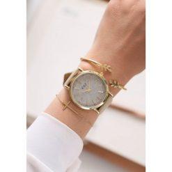 Zegarki damskie: Beżowo-Złoty Zegarek You Have Won