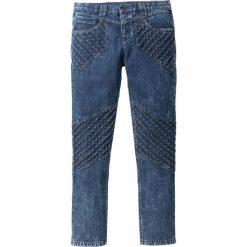 """Dżinsy Loose Fit Tapered bonprix ciemnoniebieski """"stone used"""". Czarne jeansy męskie relaxed fit marki bonprix. Za 179,99 zł."""