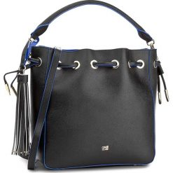 Torebka CAVALLI CLASS - City Diva C73PWCNY0032B16  Black/Blue B16. Czarne torebki klasyczne damskie marki Cavalli Class, ze skóry. W wyprzedaży za 549,00 zł.