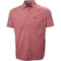 Helly Hansen Koszula Męska Domar Ss Shirt, Red Micro Check M. Niebieskie koszule męskie marki Helly Hansen. Za 315,00 zł.
