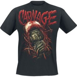 Venom (Marvel) Carnage - Screaming Tunnel T-Shirt czarny. Czarne t-shirty męskie z nadrukiem marki Caliban, s. Za 74,90 zł.