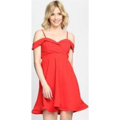 Sukienki: Czerwona Sukienka Party Favors