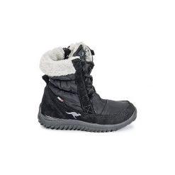 Śniegowce Dziecko Kangaroos  CUPY JUNIOR. Niebieskie buty zimowe chłopięce marki KangaROOS. Za 231,20 zł.
