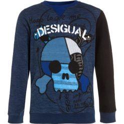 Desigual HENRY Bluza navy. Niebieskie bluzy chłopięce marki Desigual, z bawełny. W wyprzedaży za 191,20 zł.