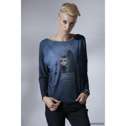 Magic girl bluzka Unicorno. Szare t-shirty dziewczęce Pakamera. Za 149,00 zł.