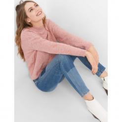 Sweter z wiązaniem z tyłu. Brązowe swetry klasyczne damskie marki Orsay, s, z dzianiny. Za 99,99 zł.